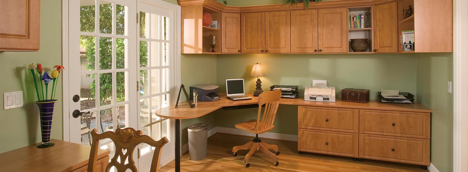 home office organizers | office cabinets | home office shelves