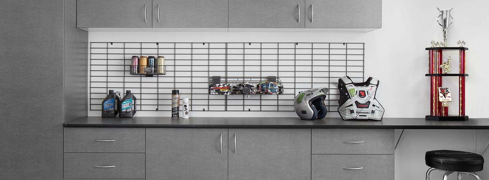 Garage Organizers Slatwall Gridwall Wall Shelves
