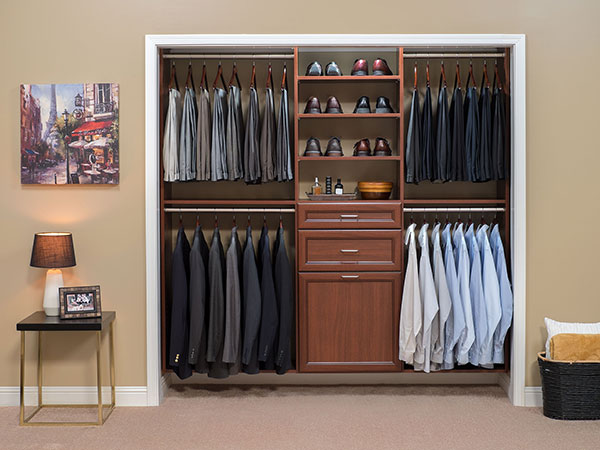 Custom Reach-In Closet