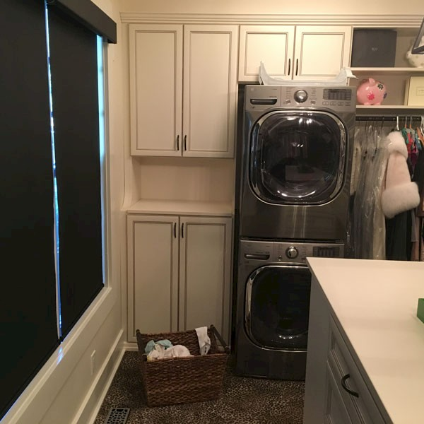 Custom Walk In Closet With Washer And Dryer View Larger Image
